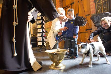 Dierendag in de Maria van Jessekerk. Foto: Rogier Chang