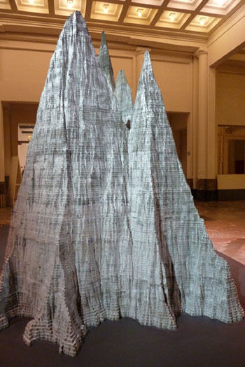 Anish Kapoor - Large Mountain