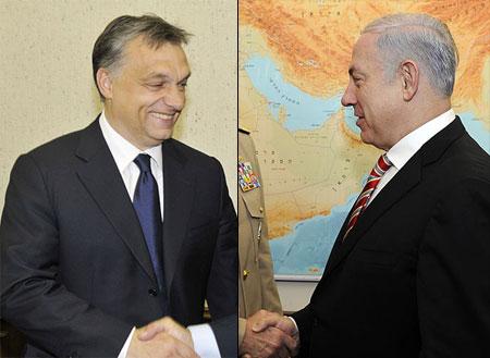 Orbán en Netanyahu