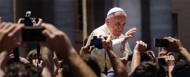 """Paus in Zweden: """"Katholieken en lutheranen moeten samen optrekken"""""""
