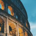 Colosseum Rome, eerste christenen