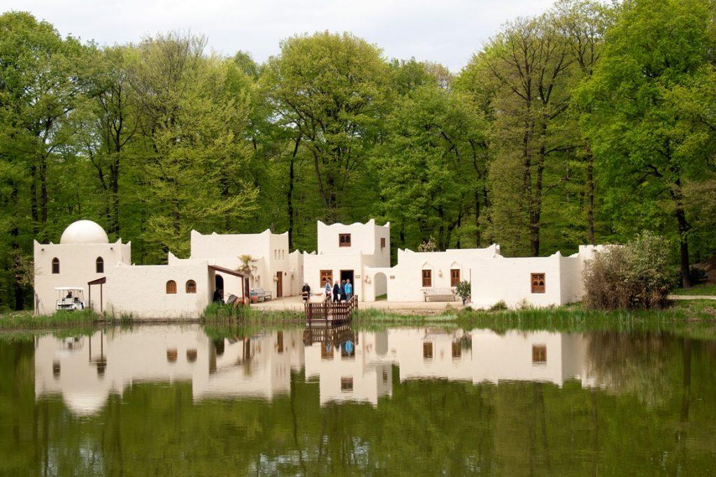 Arabisch dorp in Orientalis
