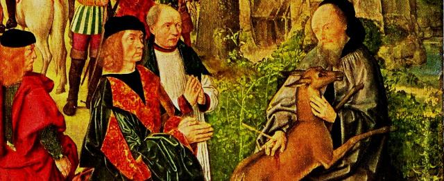 Waarin het verhaal van Sint Gilles lijkt op dat van Christus