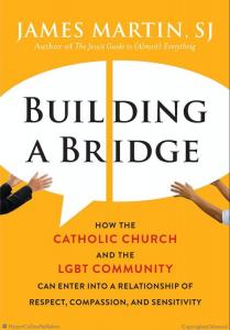 Omslag Building a Bridge, boek over gelovige LGBT'ers en kerkleiders