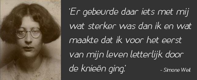 Mystica Simone Weil: 'De enige grote geest van haar tijd'